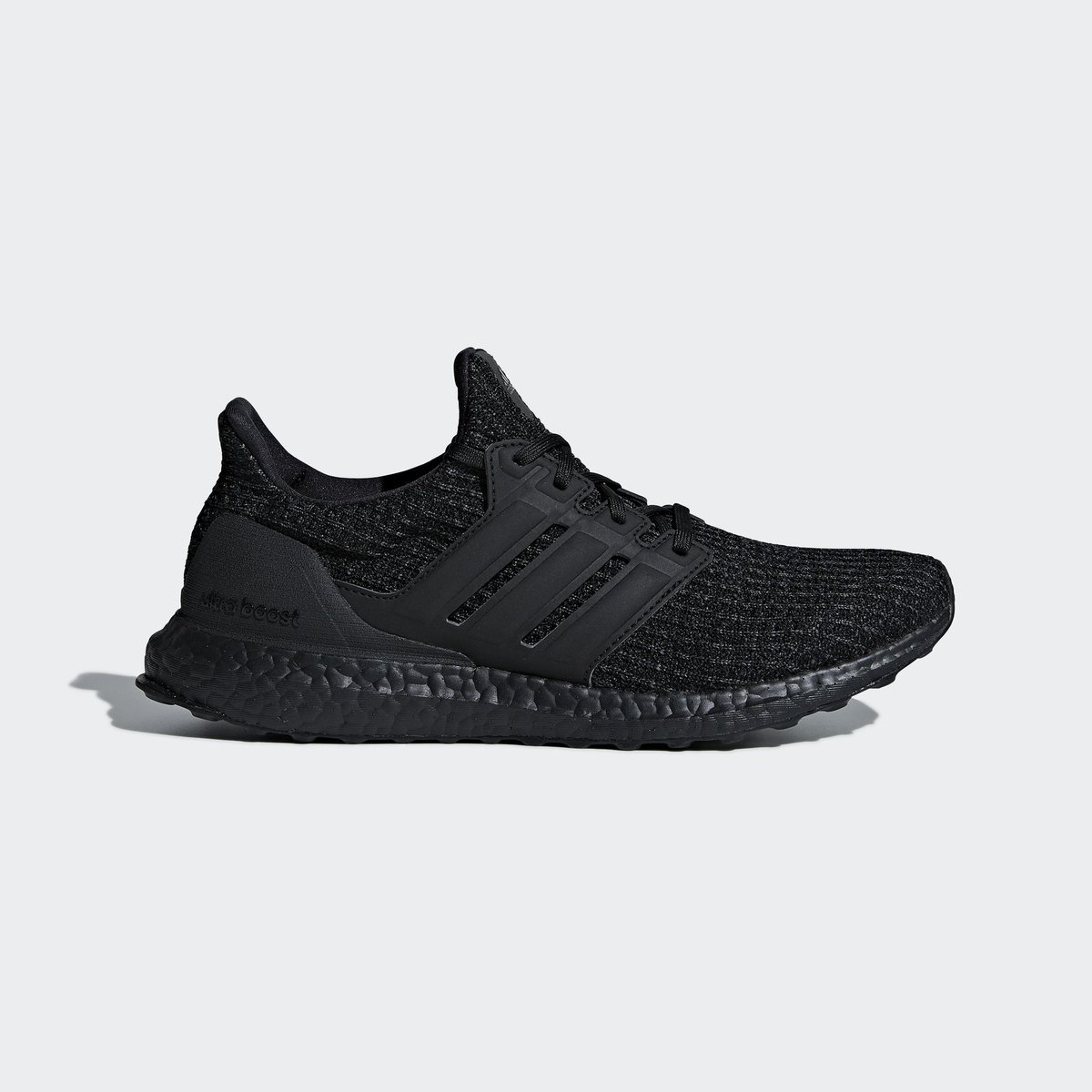 b08040d971c46 The Triple Black Ultra Boost 4.0 returns for the holidays with a nubuck  midpanel cage
