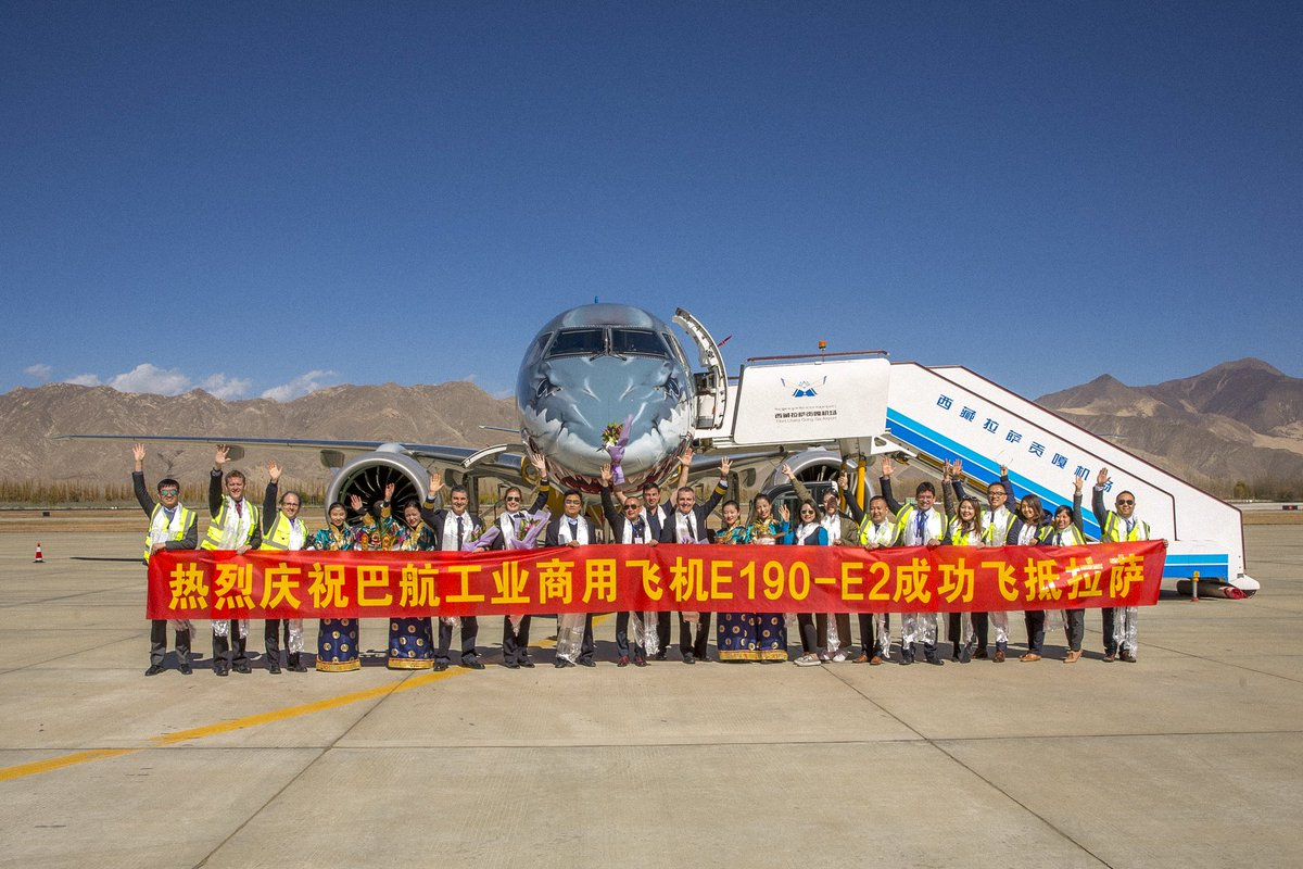 Resultado de imagen para airshow china Embraer E190 E2