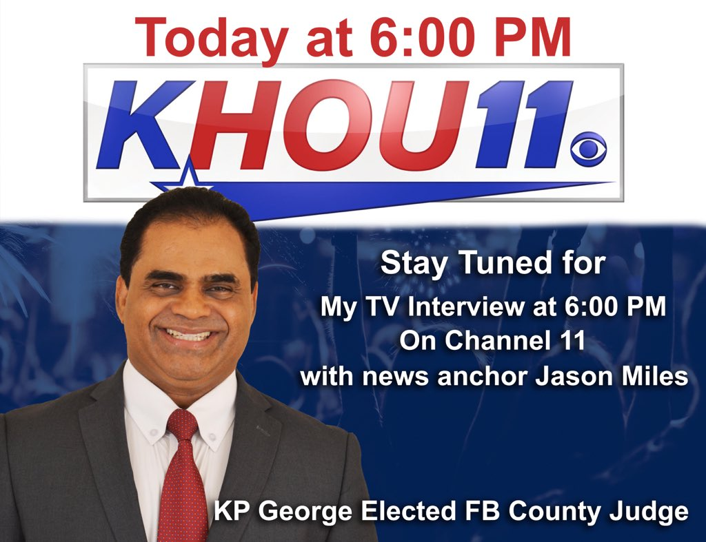 County Judge KP George on Twitter: