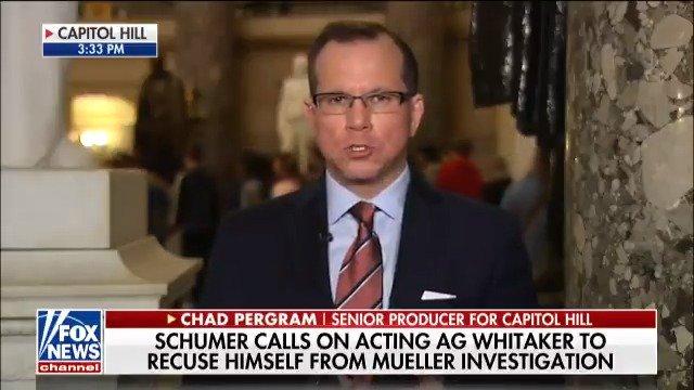 .@SenSchumer calls on acting AG Whitaker to recuse himself from Mueller investigation https://t.co/SfA26v0ock https://t.co/TVhVNHxzet