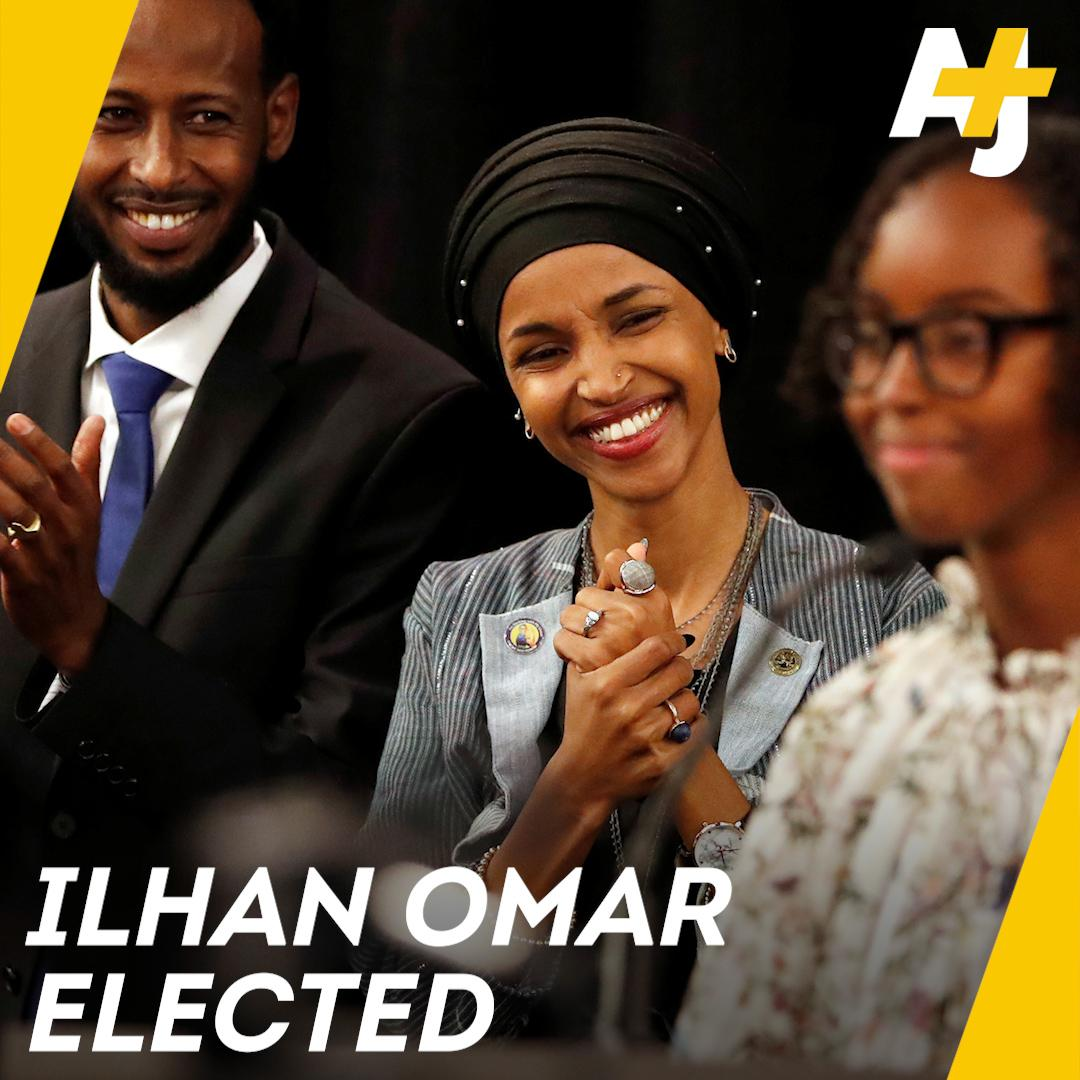 Meet Ihlan Omar, the first Somali-American ever elected to Congress.