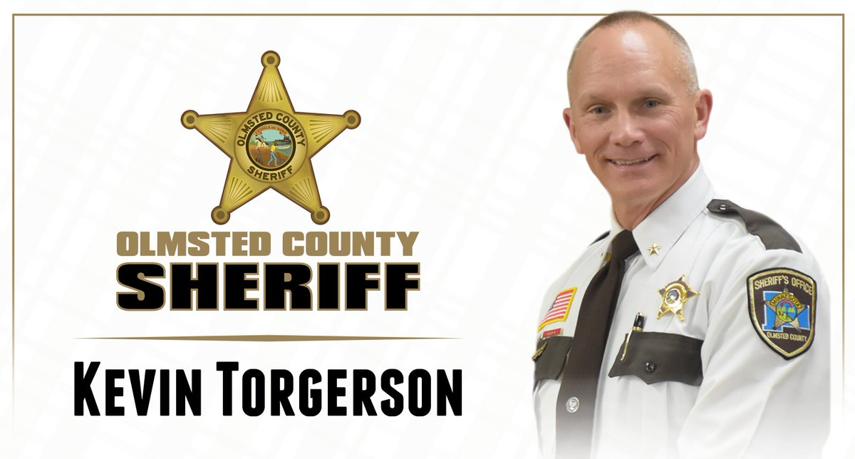 Sheriff Kevin Torgerson has been re-elected as Olmsted