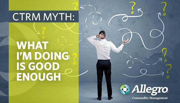 This Week We Re Covering The Myth What I M Doing Today Is Good Enough Read More On Allegro Blog Http Bit Ly 2jmskc8 Ctrm Etrmpic Twitter
