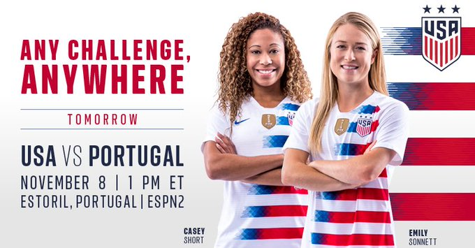 Dear employers, please excuse all #USWNT fans tomorrow for an extra long lunch break. Tysm. 📰 » Photo