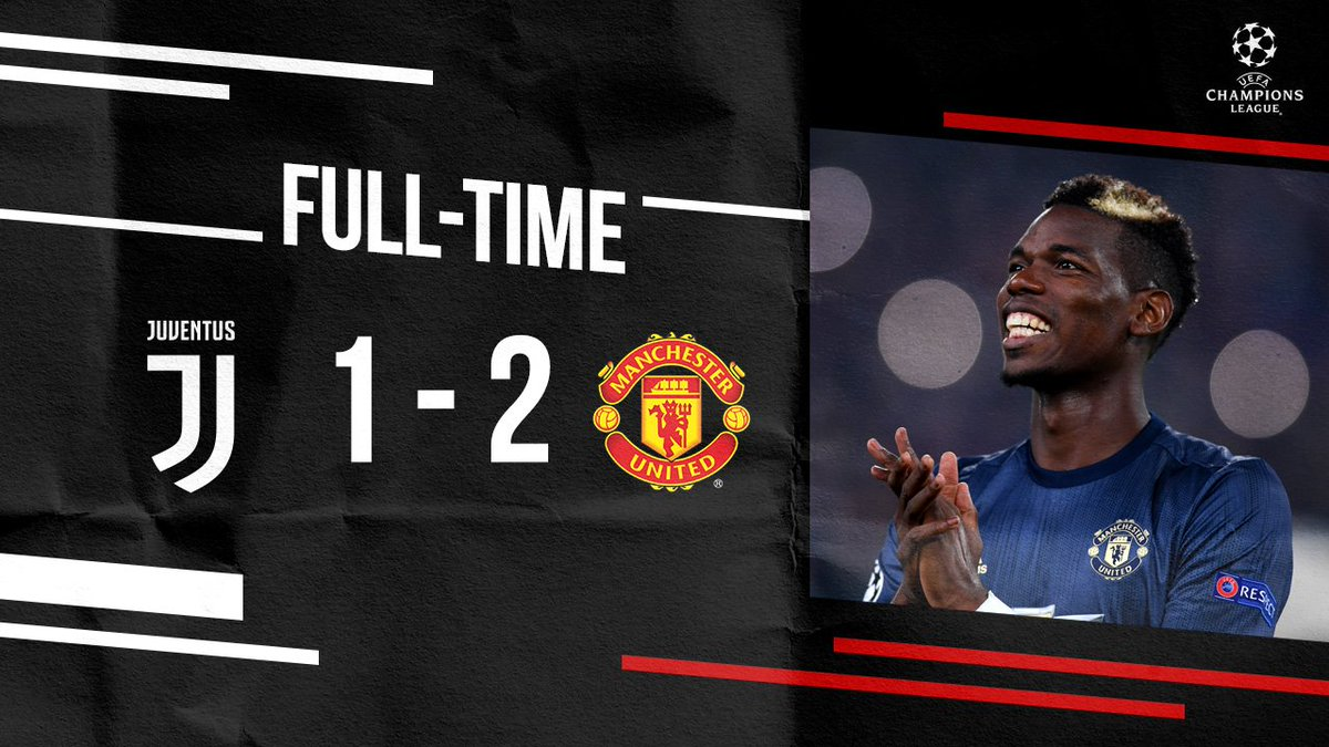 Two late goals seal a memorable #MUFC win - wow! 😍 #UCL