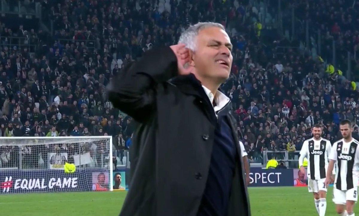 L'incroyable chambrage de José Mourinho aux supporters de la Juve