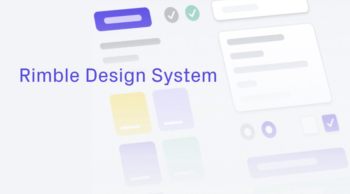 Joseph Lubin On Twitter The Consensysdesign Team Recently Released Their Rimble Design System To The Public They Ve Developed Adaptable Components And Design Standards To Make Ethereum More User Friendly Rimble Aims To