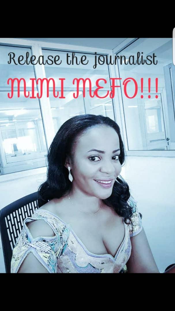 Mimi Mefo d'Equinoxe TV vient d'être placée menotée sous mandat de dépôt à la prison centrale New-Bell. Il était 23h00. L'état de droit n'a pas seulement reculé au Cameroun mais a foutu le camp. La cabale contre  la presse et l'embastillement des journalistes est en matche. SNJC