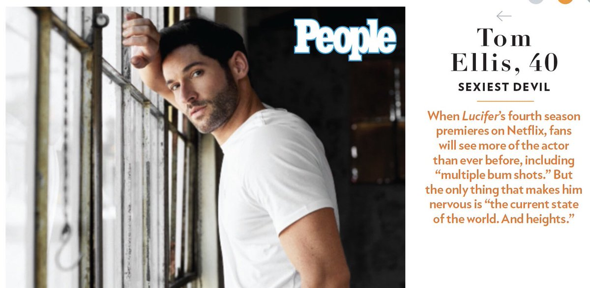 Well thank you @people for putting me in your #SexiestManAlive issue which comes out nationwide on Friday! Who knew glueing my arm to a window would achieve such an endorsement ☺️