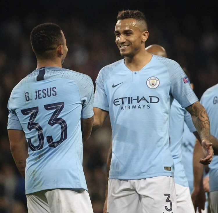 Champions league night's are always especial! Great performance from the team and also very happy to get my first minutes in the competition this season! Go @ManCity ! 👊🏽🔵🔵🔵#mancity #sólazer #debicaspromundo @gabrieljesus33