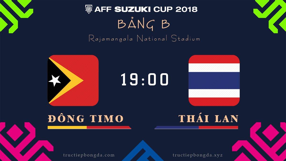 Xem lại: Đông Timor vs Thái Lan