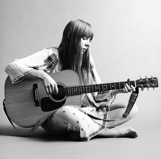 Happy Birthday Joni Mitchell. Her songwriting had such a massive impact on me. Still does. A true artist.