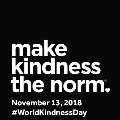Make kindness the norm every single day! #bethatKINDofkid #DigCitKids #WorldKindnessDay