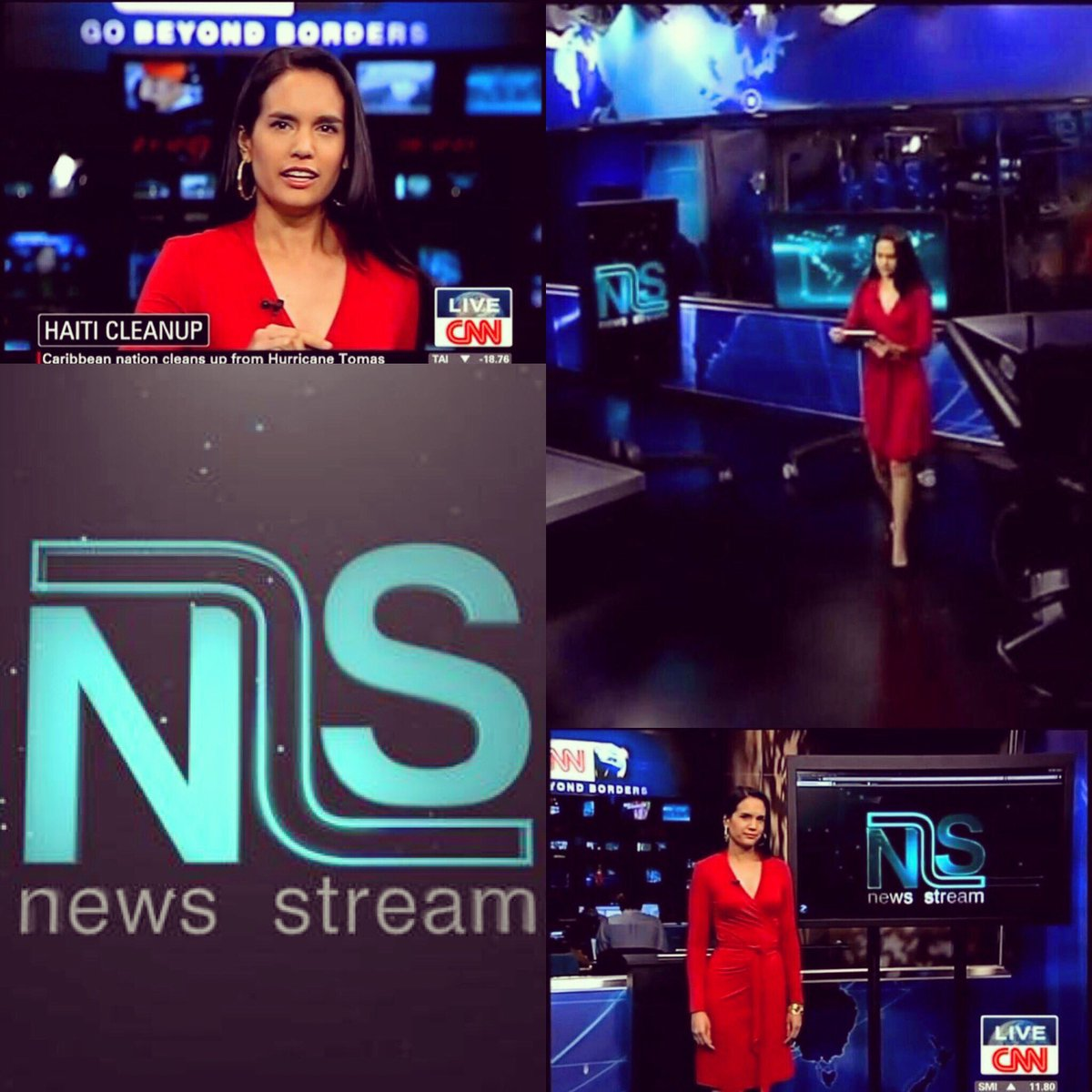 Kristie Lu Stout On Twitter 8 Years Of News Stream 8 Years The Very First Show Aired On November 8 2010 I Wore My Lucky Red Dress Wherever In The World