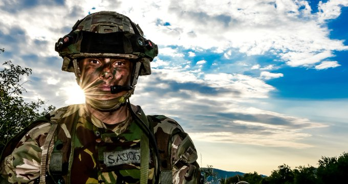 #ThursdayThoughts Our greatest asset is our people - the finest men and women our great nation has to offer. Photo
