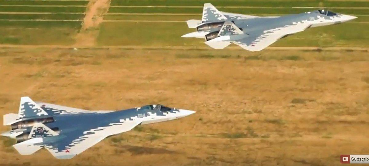 مقاتله Sukhoi T-50 PAK FA سيتغير اسمها الى Su-57  - صفحة 5 Drd5StDWsAAQjv4