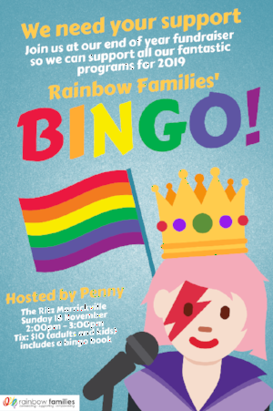 Sydney Mardi Gras On Twitter Fun For The Whole Family The Bingo Fundraiser For Rainbowfamau Is Coming Up Https T Co Cvsilrxjvz