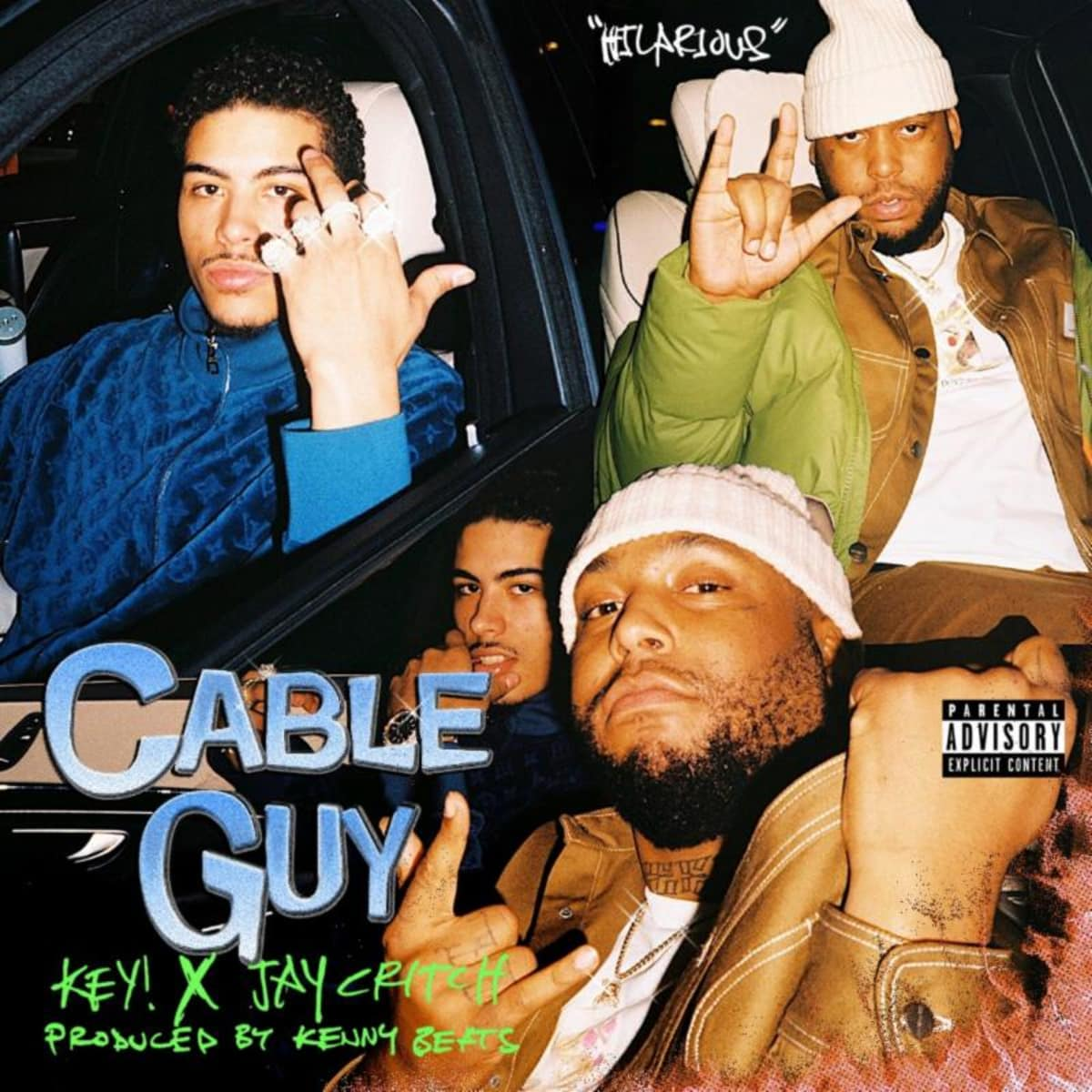 Key! trades bars with Jay Critch on Kenny Beats-produced 'Cable Guy.' trib.al/JlCr7ab