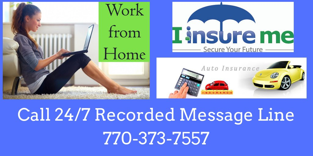 #BizOpp  Call our 24/7 Recorded Message Line at 770-373-7557 for Info on How YOU can turn a Mandatory Expense into a Growing Residual Income! #BeYourOwnBoss #WorkfromHome #BusinessOpportunity #Residualincome #Insurance #AutoInsurance #HomeInsurance #BusinessInsurance<br>http://pic.twitter.com/eNJyfi3qVW