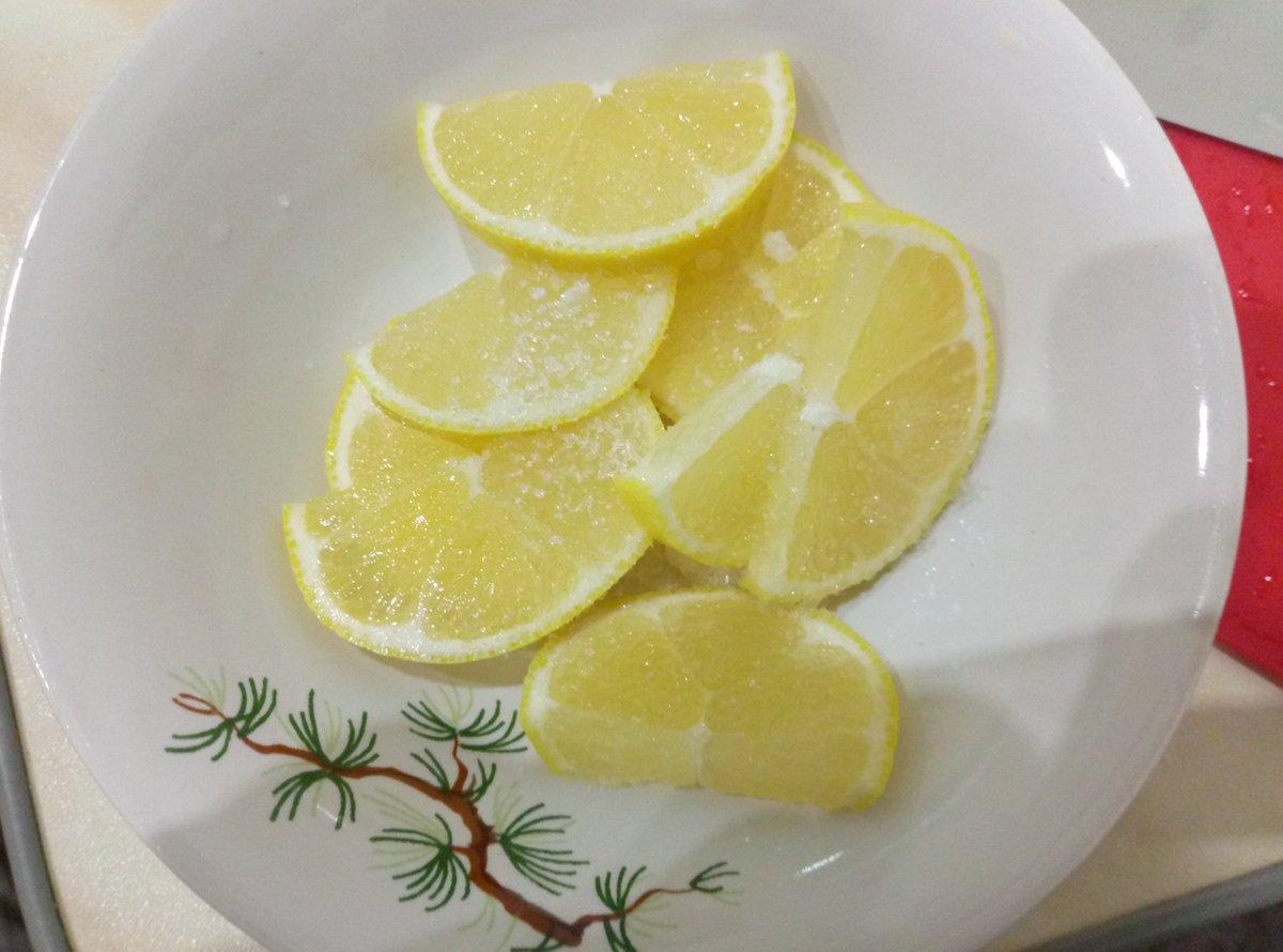 Картинки лимона в сахаре
