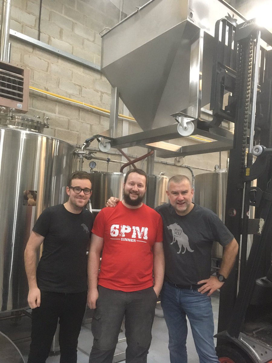 Image for Mashing in with @WWolfBrewery today https://t.co/UiEm5H7o2B
