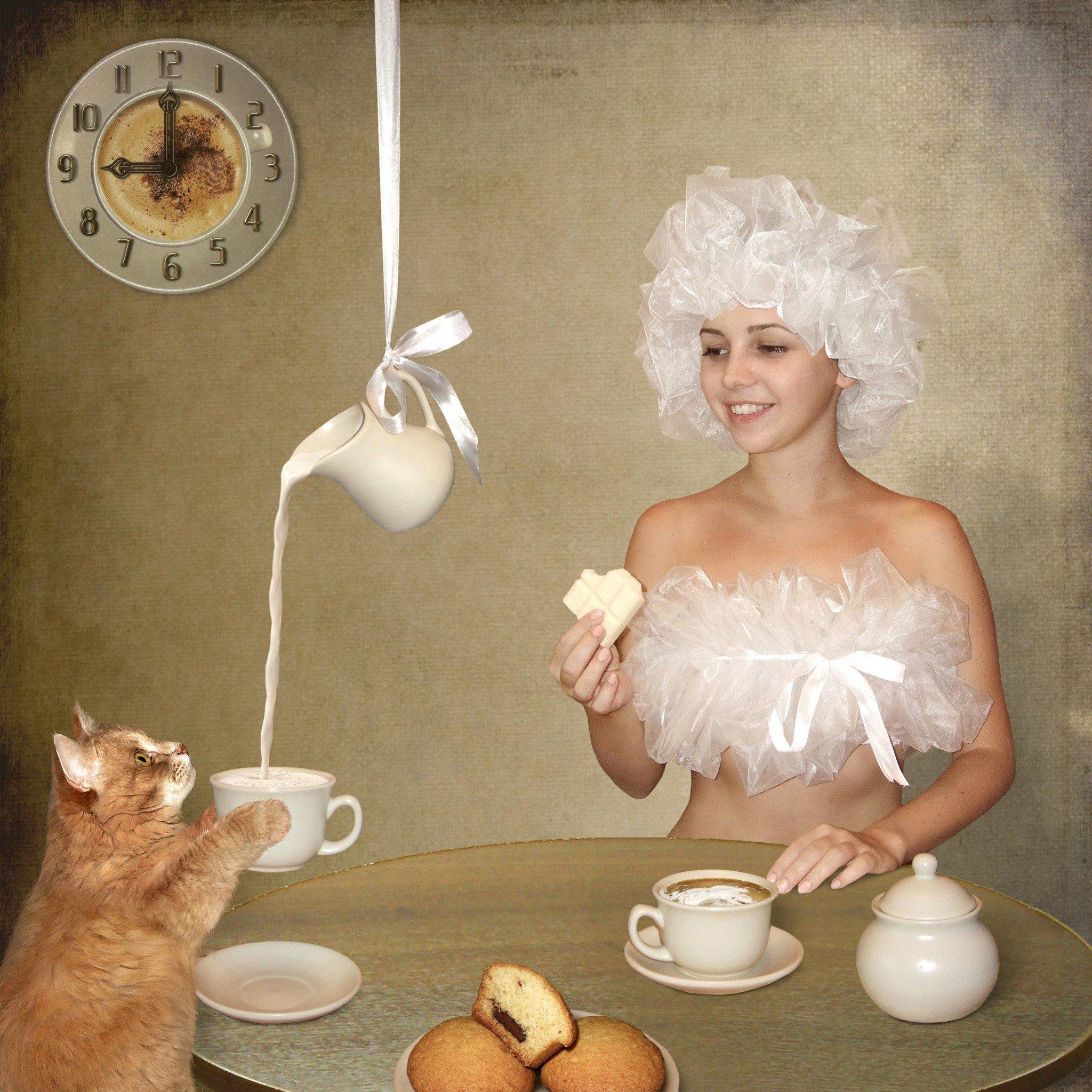 Прикольные картинки утро женщина утром