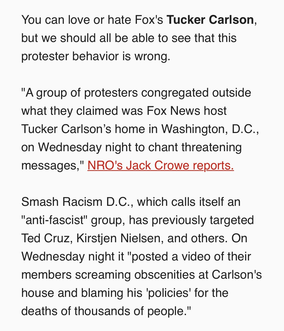 Seconding what @MegynKelly said earlier: Tucker Carlson does not deserve this. (https://t.co/diNsXu9cCb) https://t.co/TdDjCHQ4AI
