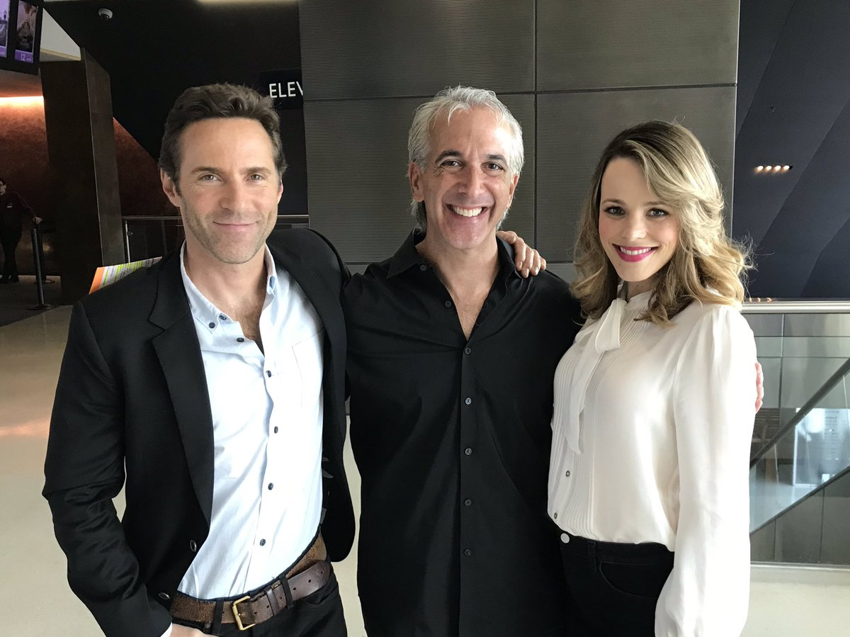 "Really enjoyed moderating a SAG Q&A for the powerful love story ""DISOBEDIENCE"" at the @LandmarkLTC with the charming #AlessandroNivola and the always delightful #RachelMcAdams — Movie is *SO* GOOD!!"