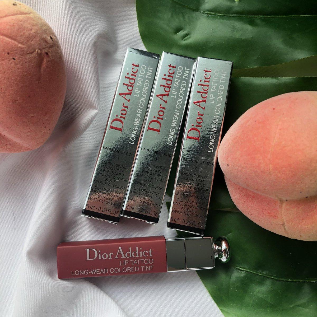 على تويتر Dior Addict Lip Tattoo 771 Natural Berry ทน