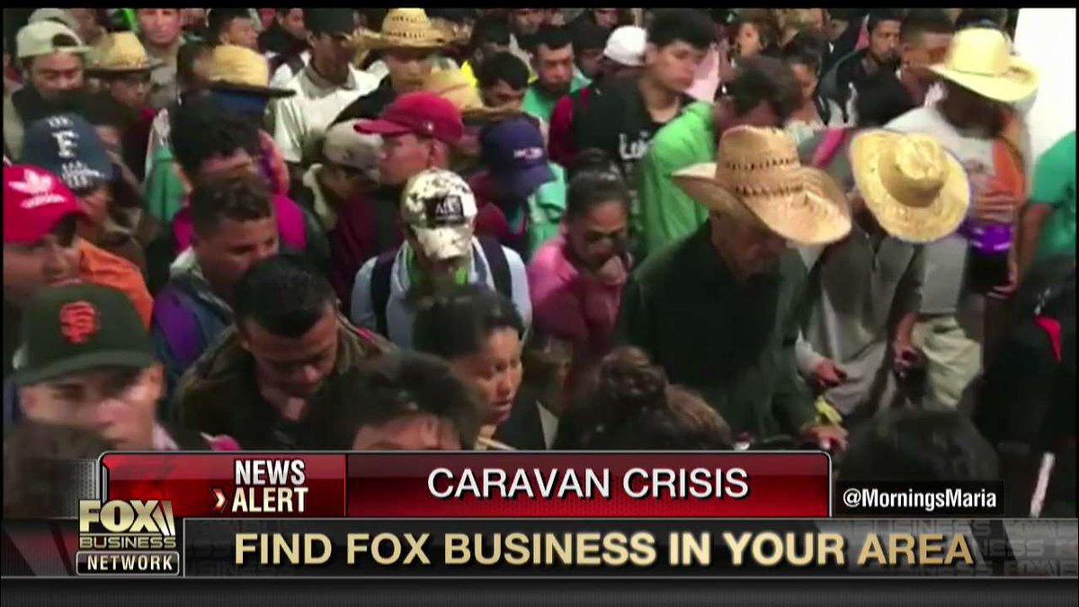 Migrant caravan considering whether to stay in Mexico or risk danger, deportation heading north to US fxn.ws/2DrL89H