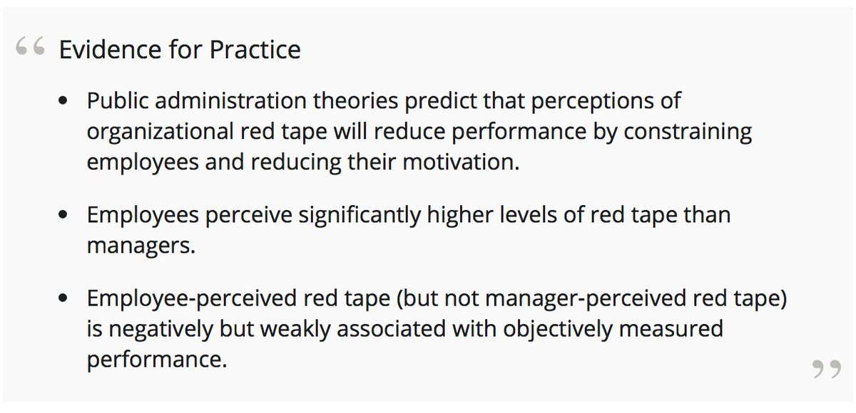 Par On Twitter Studying Red Tape Or Organizational