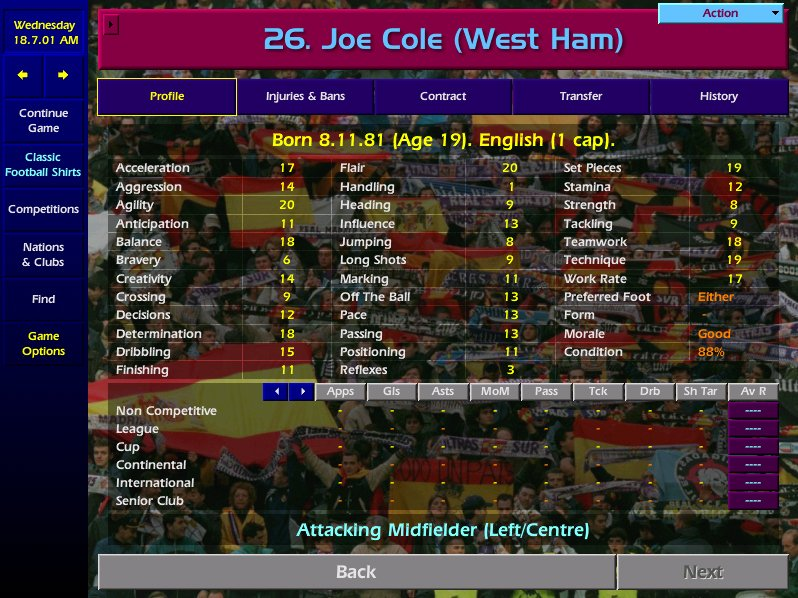 Happy Birthday Joe Cole  A must buy as a wonderkid on Champ Manager 01/02!