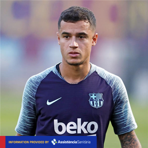 ❗MEDICAL COMMUNIQUÉ @Phil_Coutinho to be out for two to three weeks. ℹ️ https://t.co/ZcpDoil6yO  ���� #ForçaBarça https://t.co/txnnSigdzD