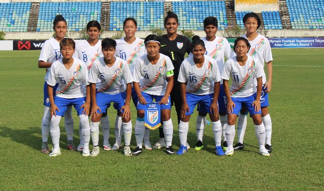 Indian Women's football team embarked their Olympic qualifiers with a 1-1 draw against Nepal