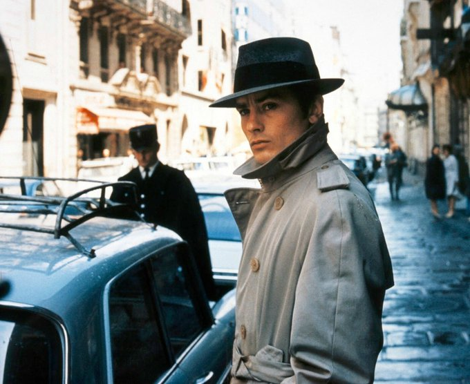 Happy birthday Le Samouraï Alain Delon (born 8 November 1935)