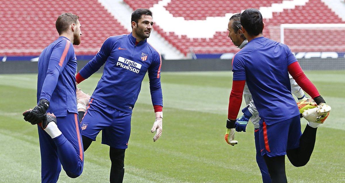 Entrenamiento del Atlético (Foto: Atleti).