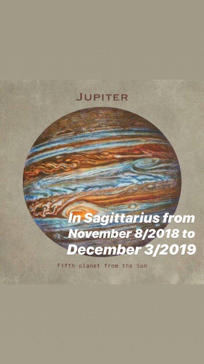 Jupiter In Sagittarius 2018 2019
