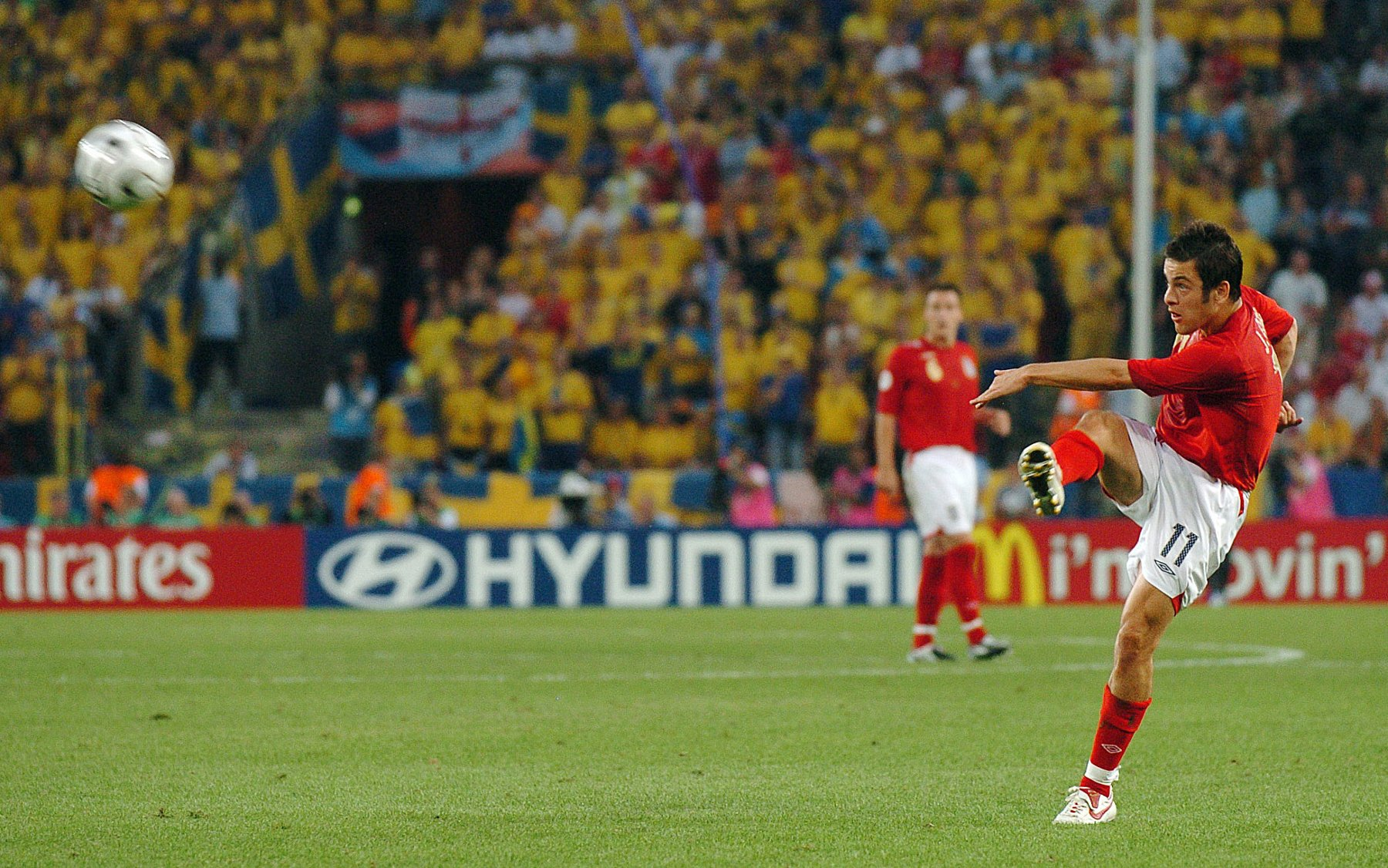 - Happy birthday, Joe Cole!  Was this strike against Sweden England\s greatest ever World Cup goal?