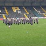 Image for the Tweet beginning: Year 6 enjoying pre match