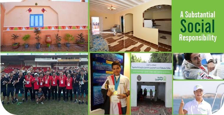ندعم لأننا نؤمن بمسؤليتنا في خلق غداً أفضل ahmedabouhashima.com/activities/