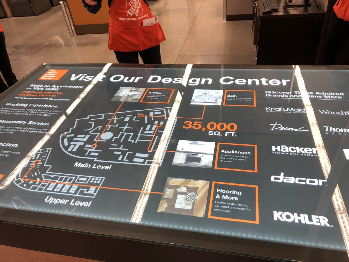 Kelly Barrett Auf Twitter The Amazing Home Depot Design Center Is Open In San Diego We Are Transforming How Our Customers Can Shop For A Kitchen Bath And Flooring Our D29 Team