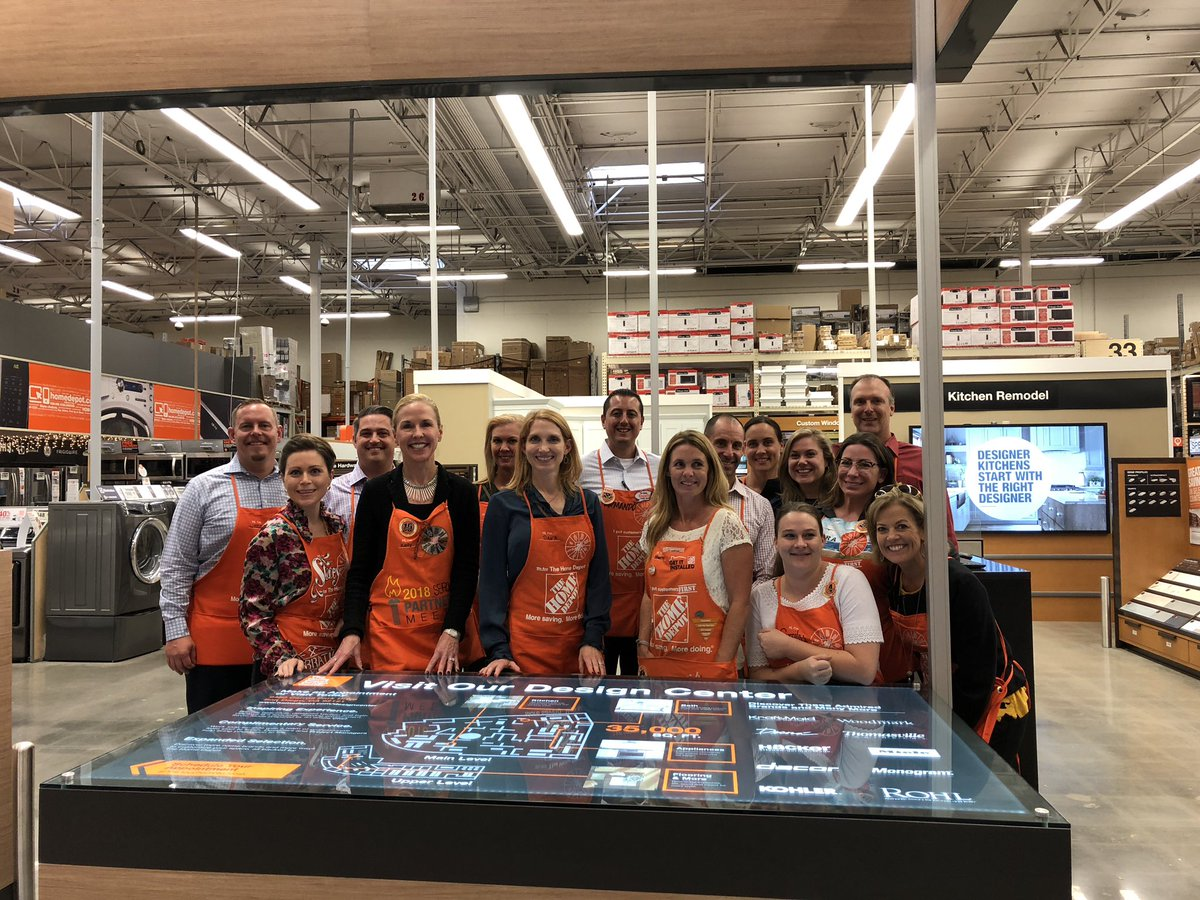 Kelly Barrett On Twitter The Amazing Home Depot Design Center Is