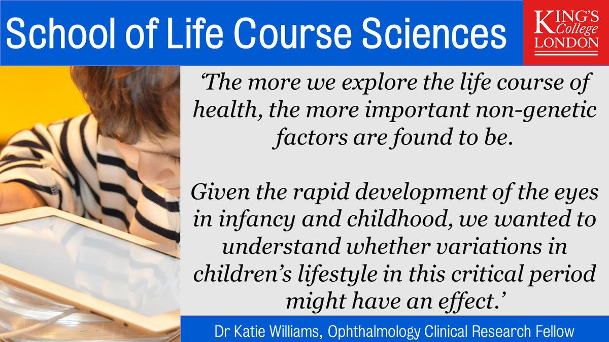 King's School of Life Course Sciences on Twitter: