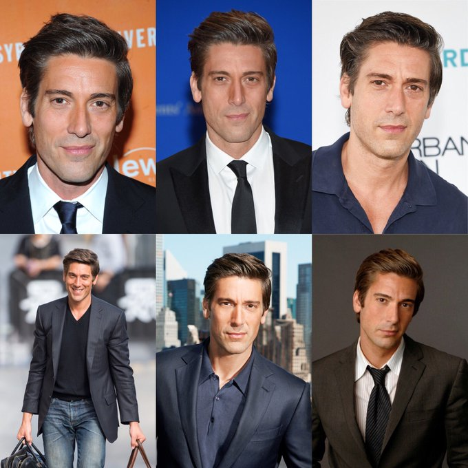 Happy 45 birthday to David Muir. Hope that he has a wonderful birthday.