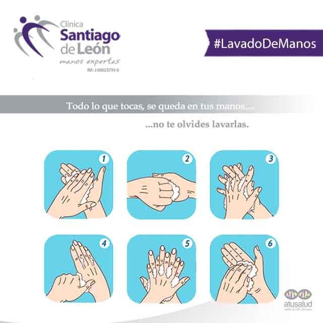 La limpieza de las manos es uno de los hábitos más importantes de higiene personal. → @csantiagodeleon #8Nov Photo