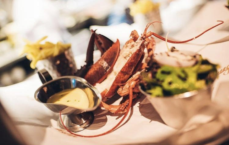 Lobster for lunch? Yes, please!