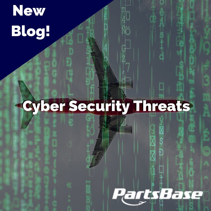 81b3d9f61f7 ... aviation and  aerospace - which is why  PBExpo puts such a heavy strain  on its vital role. http   blog.partsbase.com cyber-security-threats-in- aviation  ...