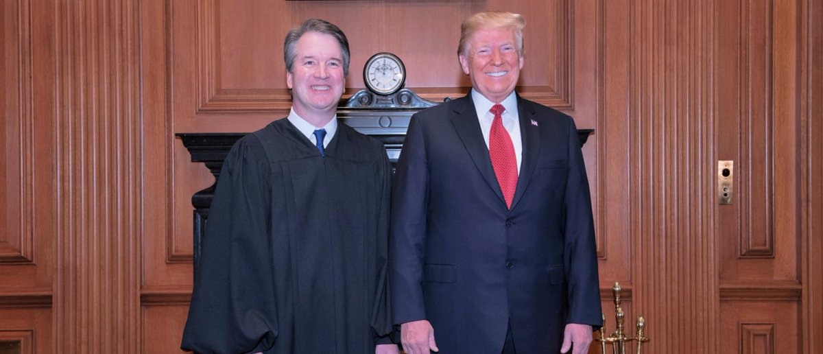 Trump Visits Supreme Court For Justice Kavanaugh's Investiture https://t.co/XDjHUO72Uf