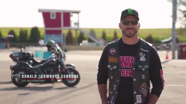The need for speed.  @CowboyCerrone isn't afraid of any challenge, especially on his @HarleyDavidson. #FreedomMachine