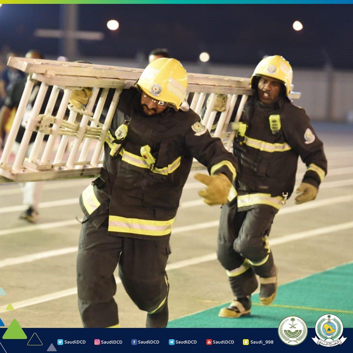 الدفاع المدني السعودي On Twitter جانب من مسابقات بطولة
